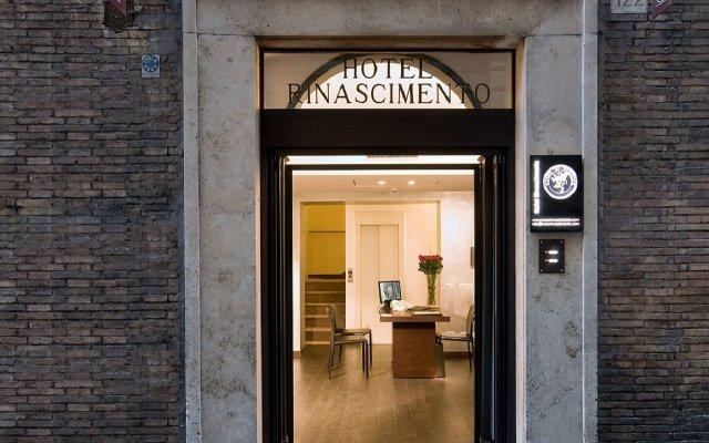 Отель Rinascimento Италия, Рим - 1 отзыв об отеле, цены и фото номеров - забронировать отель Rinascimento онлайн вид на фасад