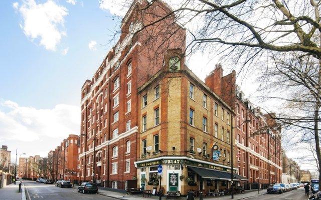 Отель Bright Queen Alexandra Apartment - MPN Великобритания, Лондон - отзывы, цены и фото номеров - забронировать отель Bright Queen Alexandra Apartment - MPN онлайн вид на фасад