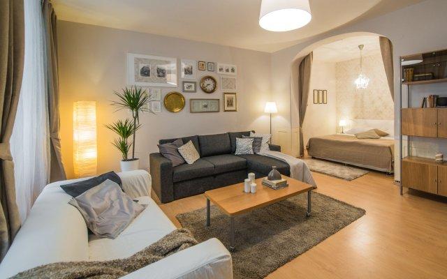 Апартаменты Apartments Rybna 2 Прага комната для гостей
