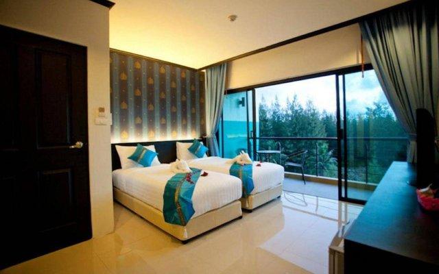 Kata Green Beach Hotel комната для гостей