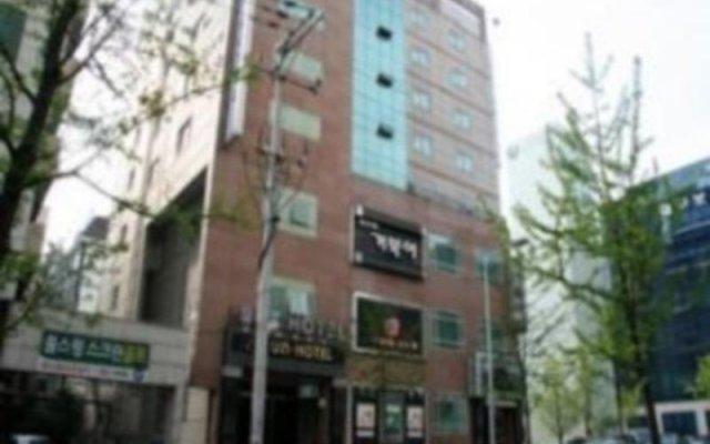 Отель Uneed Business Hotel Южная Корея, Тэгу - отзывы, цены и фото номеров - забронировать отель Uneed Business Hotel онлайн вид на фасад