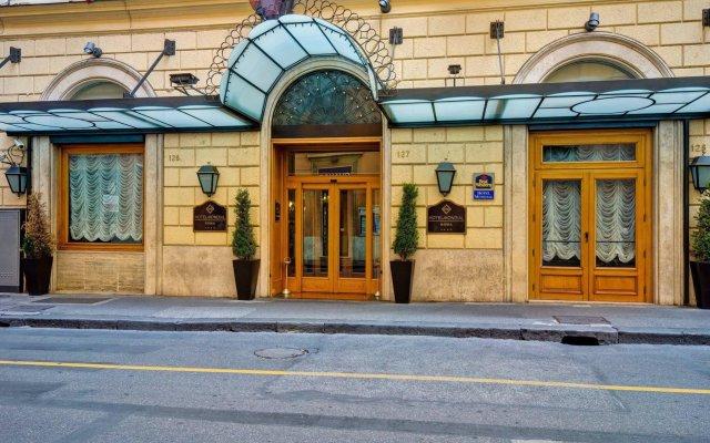 Best Western Hotel Mondial вид на фасад