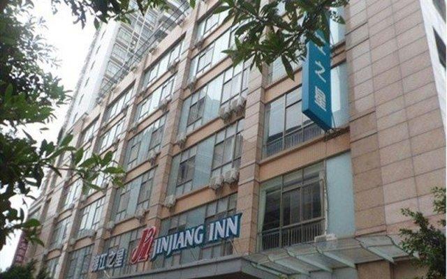 Отель Jinjiang Inn Qingyuan Shifu вид на фасад