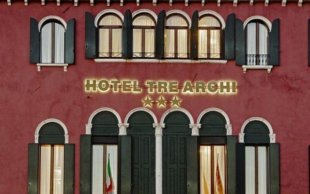 Отель Tre Archi Италия, Венеция - 10 отзывов об отеле, цены и фото номеров - забронировать отель Tre Archi онлайн вид на фасад