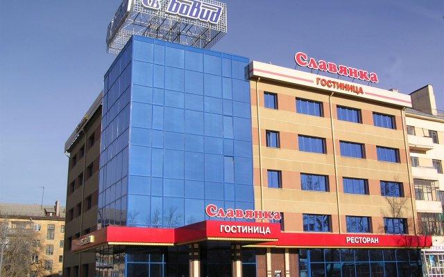 Гостиница Славянка в Челябинске 3 отзыва об отеле, цены и фото номеров - забронировать гостиницу Славянка онлайн Челябинск вид на фасад