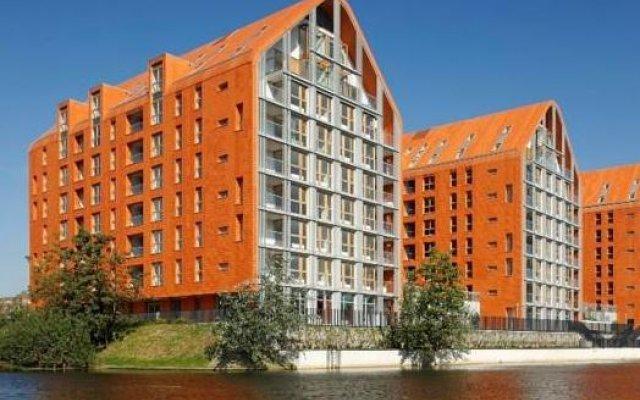 Отель Stay-In Aura Gdańsk Польша, Гданьск - отзывы, цены и фото номеров - забронировать отель Stay-In Aura Gdańsk онлайн вид на фасад