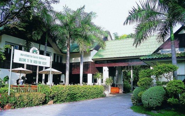 Отель Green Park Resort Таиланд, Паттайя - - забронировать отель Green Park Resort, цены и фото номеров вид на фасад
