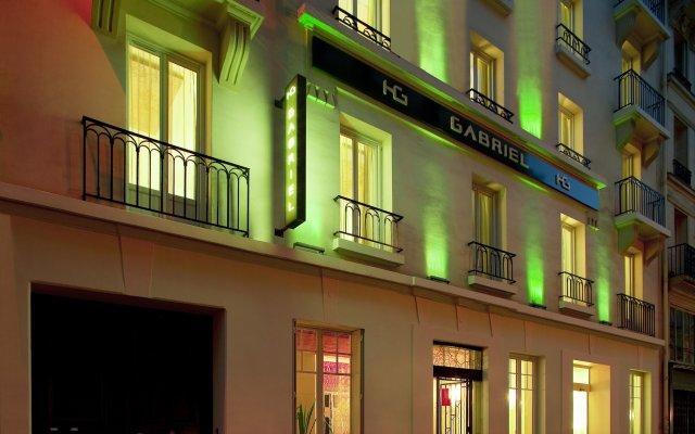 Отель Gabriel Paris Париж вид на фасад