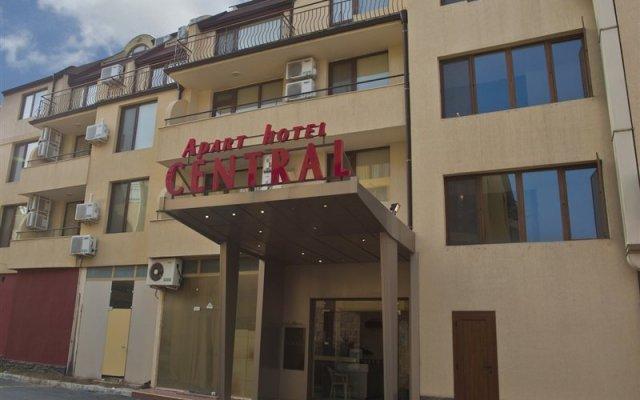 Hotel Central вид на фасад