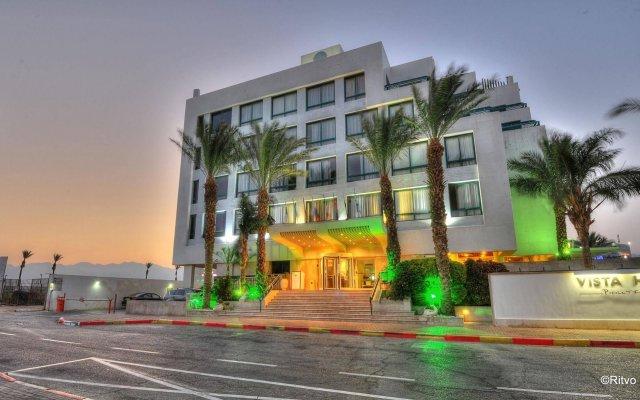 Vista Eilat Hotel вид на фасад