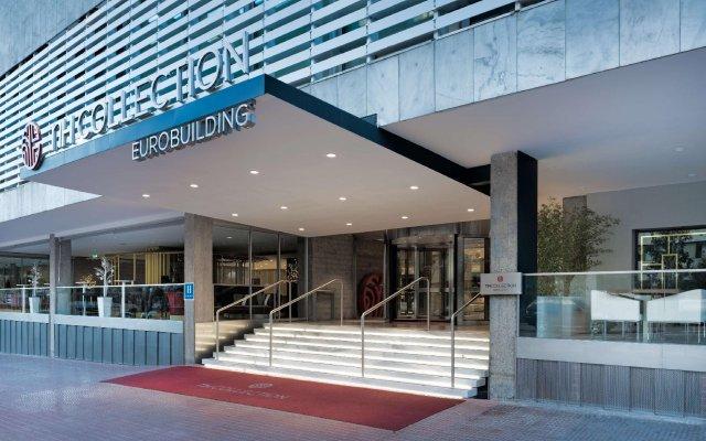 Отель NH Collection Madrid Eurobuilding вид на фасад