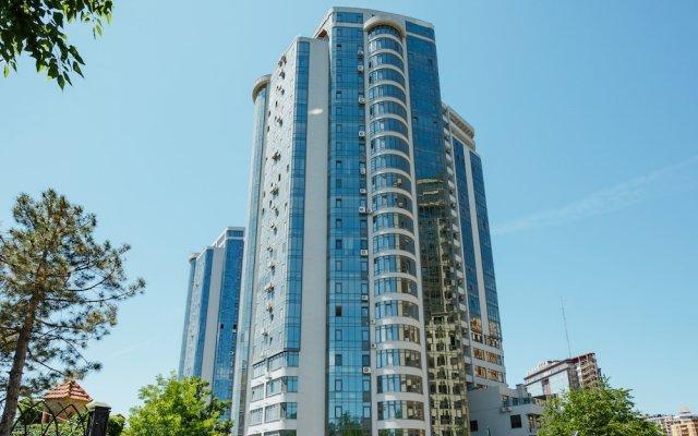 Апартаменты Arcadia Sky Apartments вид на фасад