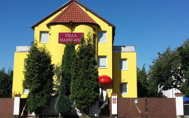 Gay Hotel Villa Mansland вид на фасад