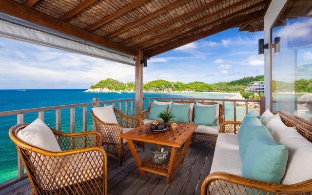 Отель Cape Shark Villas балкон