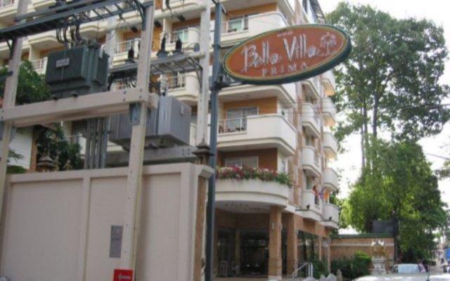 Отель Bella Villa Prima Hotel Таиланд, Паттайя - отзывы, цены и фото номеров - забронировать отель Bella Villa Prima Hotel онлайн вид на фасад