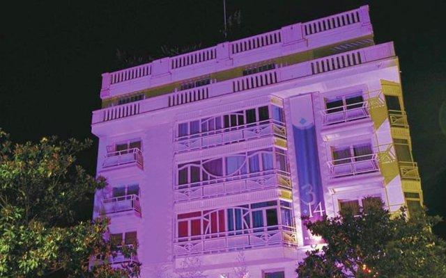 Hotel 3.14 вид на фасад