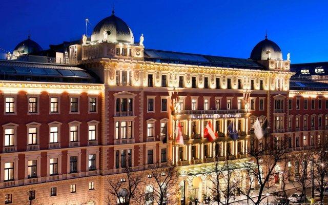 Отель Palais Hansen Kempinski Vienna Австрия, Вена - 2 отзыва об отеле, цены и фото номеров - забронировать отель Palais Hansen Kempinski Vienna онлайн вид на фасад