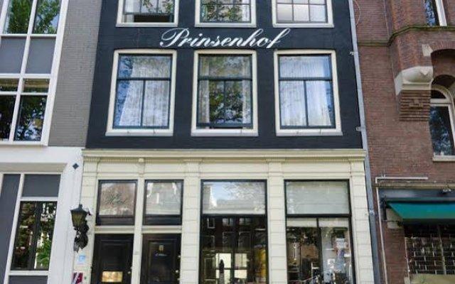 Hotel Prinsenhof Amsterdam вид на фасад