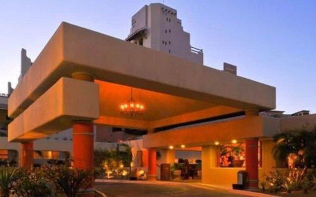 Отель Great Marina-view Nautical JR Suite IN Cabo Золотая зона Марина вид на фасад