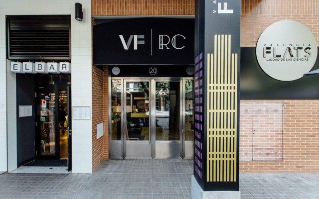 Отель Valenciaflats Ciudad De Las Ciencias вид на фасад