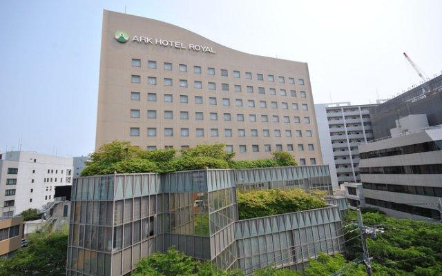 Отель Ark Hakata Royal Тэндзин вид на фасад