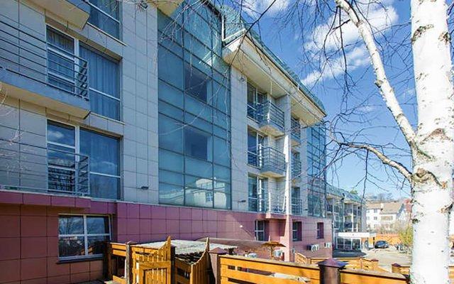 Dance Hotel вид на фасад