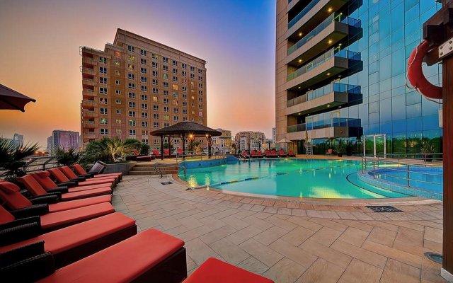 Отель Copthorne Hotel Dubai ОАЭ, Дубай - 4 отзыва об отеле, цены и фото номеров - забронировать отель Copthorne Hotel Dubai онлайн вид на фасад