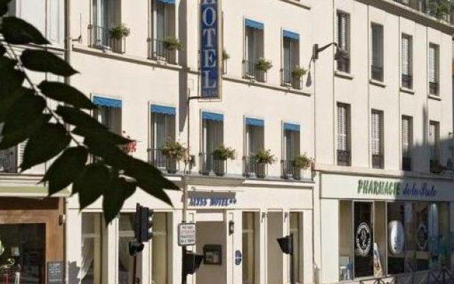 Отель Hôtel Alyss Saphir Cambronne Eiffel вид на фасад
