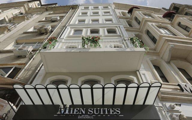 Отель Mien Suites Istanbul вид на фасад
