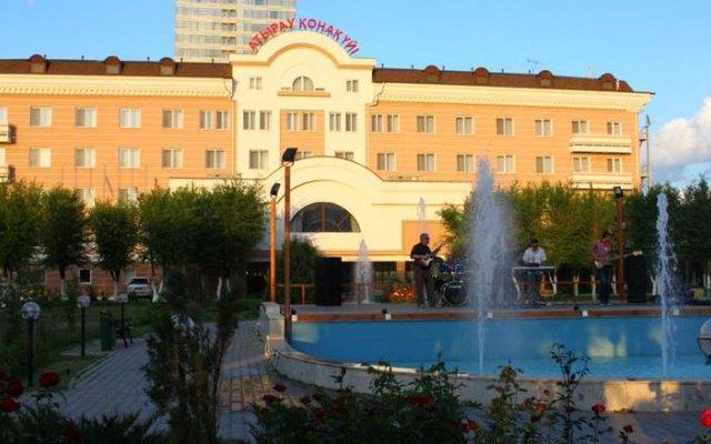 Гостиница Atyrau Hotel Казахстан, Атырау - 4 отзыва об отеле, цены и фото номеров - забронировать гостиницу Atyrau Hotel онлайн вид на фасад