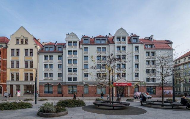 Отель Q17 Apartments Польша, Вроцлав - отзывы, цены и фото номеров - забронировать отель Q17 Apartments онлайн вид на фасад