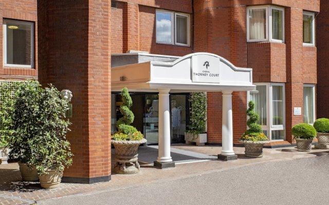 Отель Cheval Thorney Court вид на фасад