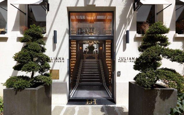 Отель Juliana Paris Франция, Париж - отзывы, цены и фото номеров - забронировать отель Juliana Paris онлайн вид на фасад