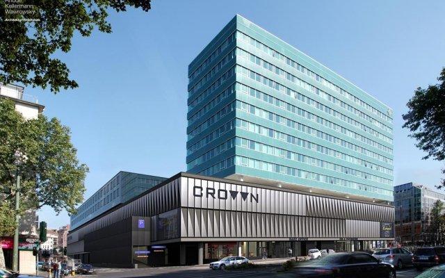 Отель carathotel Düsseldorf City вид на фасад