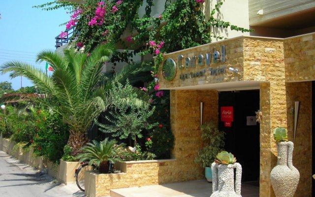 Отель Caravel Родос вид на фасад