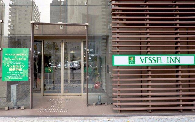 Отель Vessel Inn Hakata Nakasu Фукуока вид на фасад