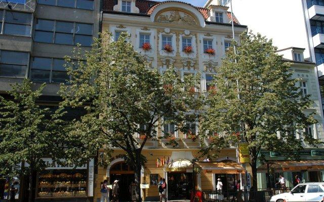 Отель Adria Hotel Prague Чехия, Прага - - забронировать отель Adria Hotel Prague, цены и фото номеров вид на фасад