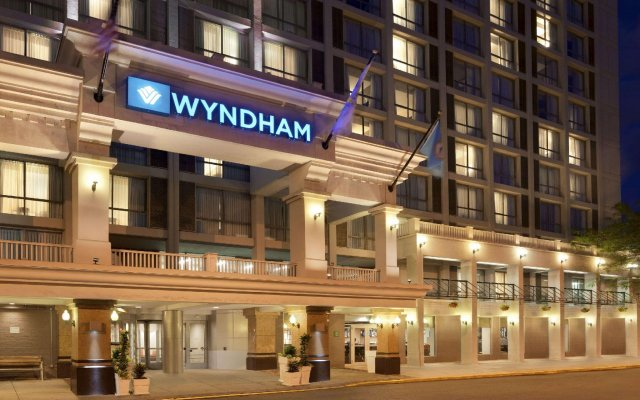 Отель Wyndham Boston Beacon Hill вид на фасад