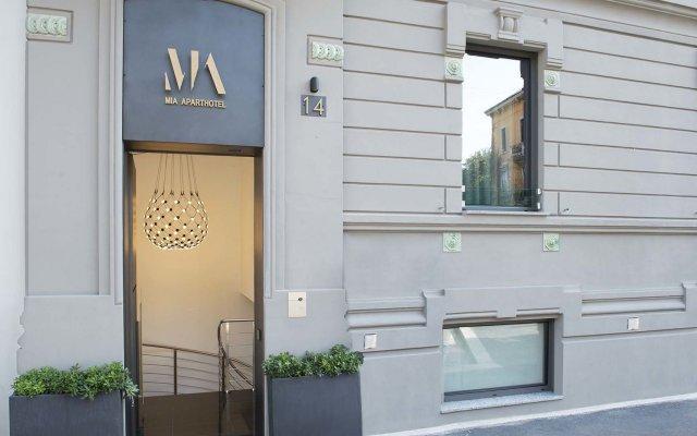 Отель Mia Aparthotel Милан вид на фасад