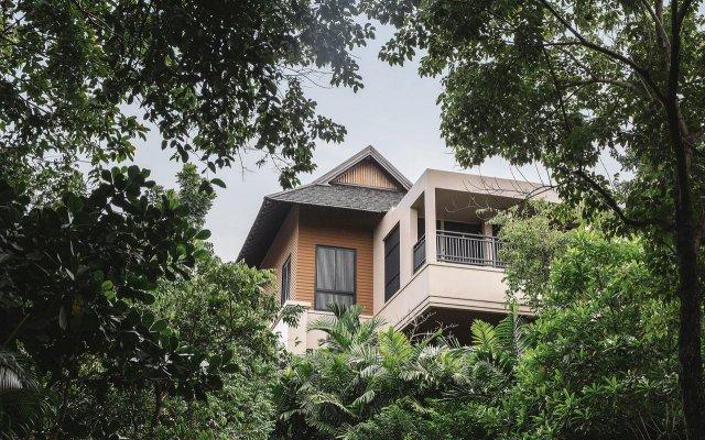 Отель Vana Belle, A Luxury Collection Resort, Koh Samui вид на фасад