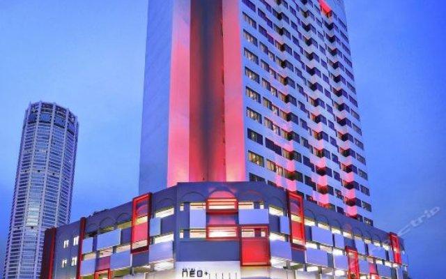 Отель Grand Continental Hotel Penang Малайзия, Пенанг - отзывы, цены и фото номеров - забронировать отель Grand Continental Hotel Penang онлайн вид на фасад
