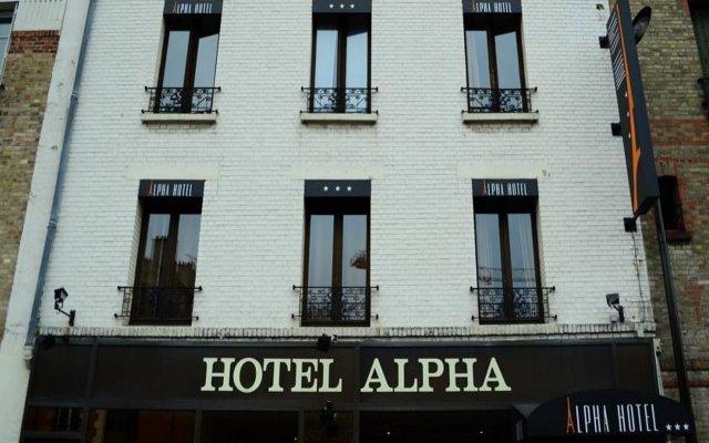 Отель Alpha Tour Eiffel Булонь-Бийанкур вид на фасад