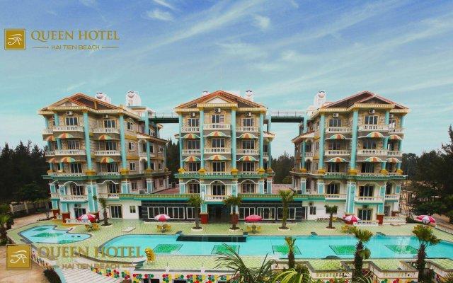 Queen Hotel Thanh Hoa вид на фасад