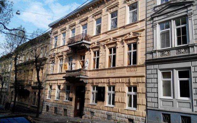 Хостел Lviv вид на фасад