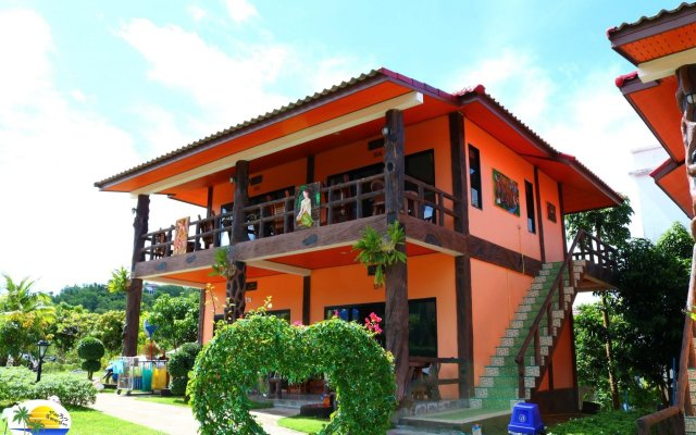 Отель Chomview Resort Ланта вид на фасад