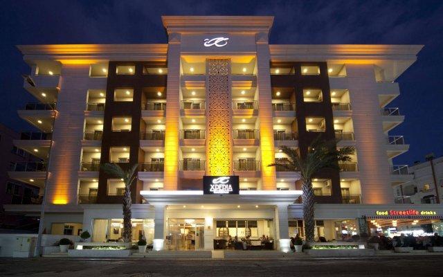 Отель Xperia Grand Bali Аланья вид на фасад