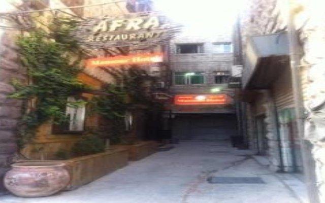 Mansour Hotel Амман вид на фасад