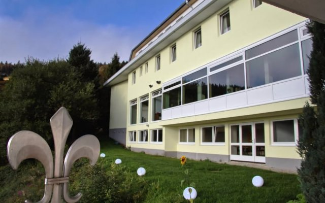 Отель Gut Lilienfein вид на фасад