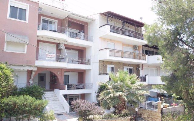 Апартаменты Alterra Vita Apartments Ситония вид на фасад