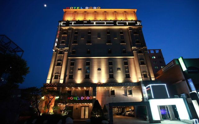 Отель Dodo Tourist Сеул вид на фасад